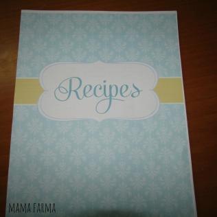 recipe-binder